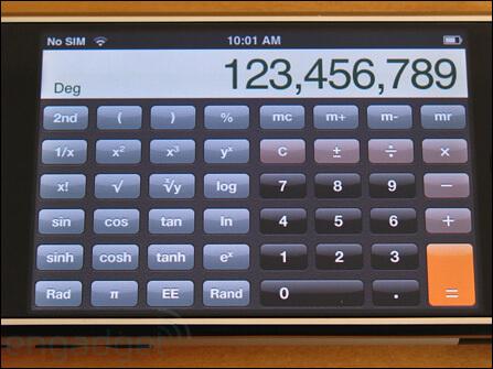 iPad为什么没有自带(内置)计算器?原来是乔布斯否决
