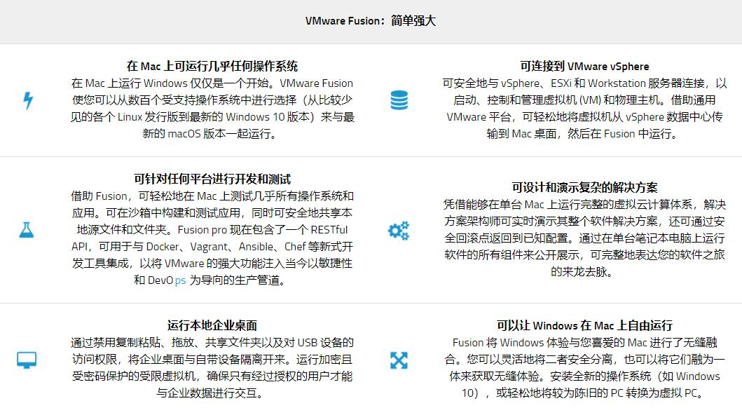 VMWare Fusion 11 for Mac(Mac虚拟机)官方版+KEY