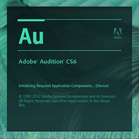 Adobe Audition CS6 5.0.2简体中文绿色破解版
