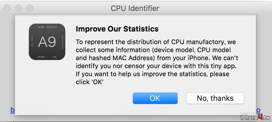 怎么看iPhone6s/p是台积电还是三星CPU,三种方法知道内芯!