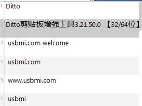 Ditto剪贴板增强工具3.21.233.00(32/64位)绿色便携版