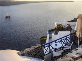 希腊圣托里尼岛唯美风景图片