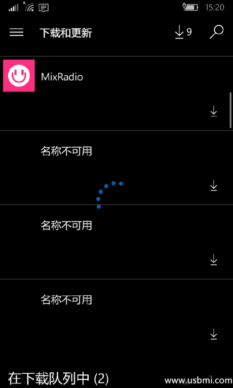 WP 10手机无法更新应用,提示